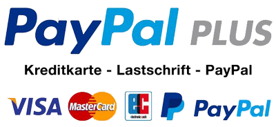 Papal Plus, Kreditkarte, Lastschrift, Paypal