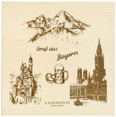 Lauenstein Confiserie Werbung